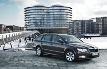 Škoda Superb 1.4 Ambition Combi kan man spare op til 45.000 kr. på at lease.