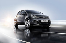 KIA Rio har vundet pris for sit design.
