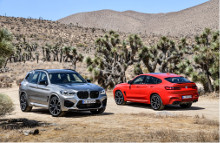 BMW X3 M Competition og BMW X4 M Competition.